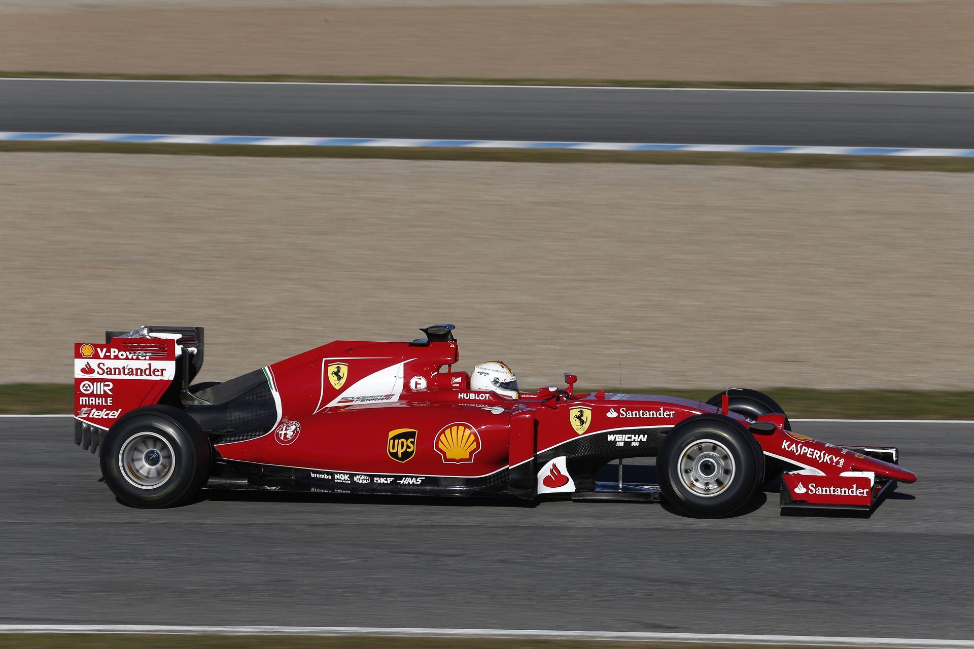 10 lóerővel adhat le többet Raikkönen és Vettel Ferrarija Barcelonában: Újabb reménysugár