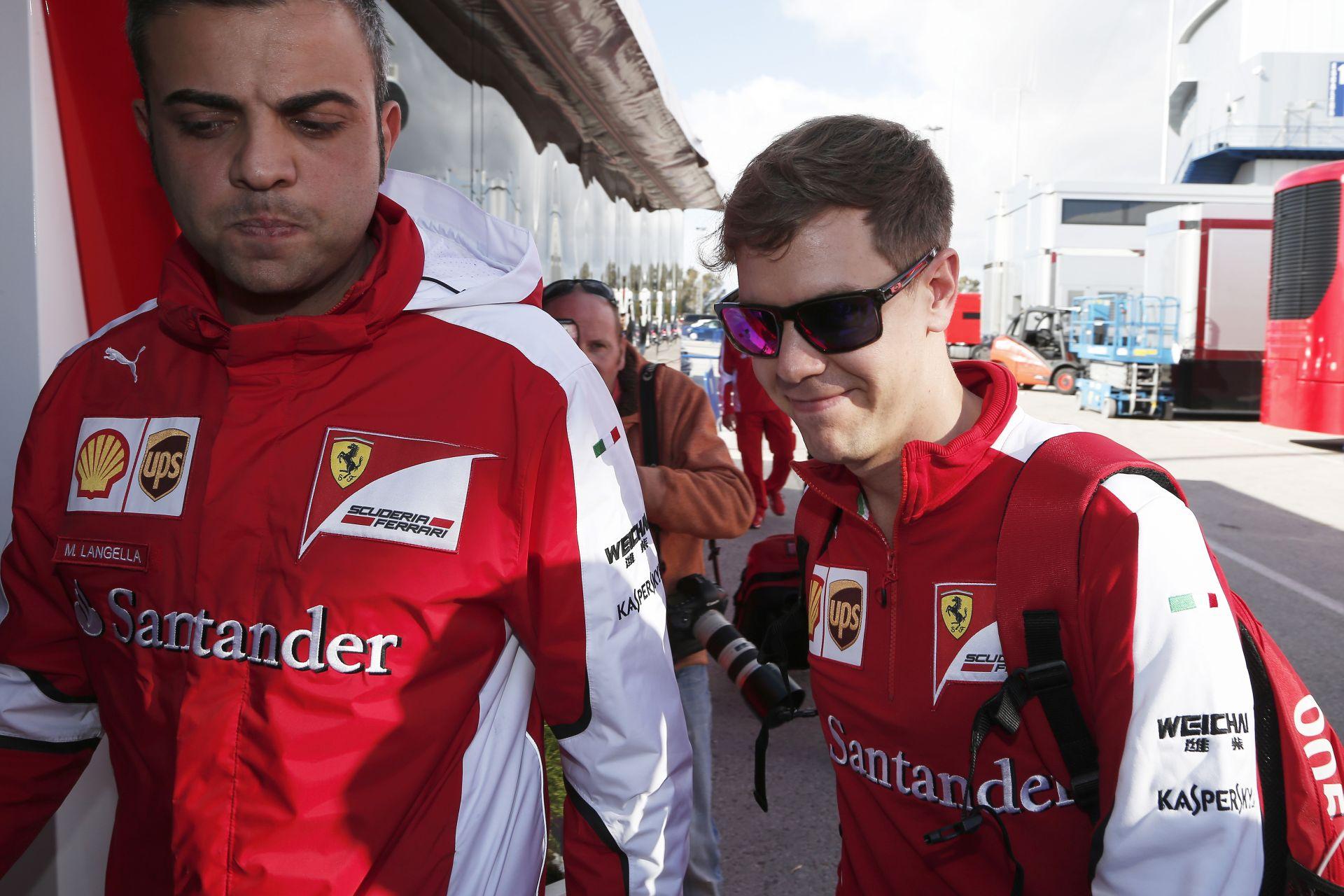 Vettel hamarosan olaszul nyilatkozhat