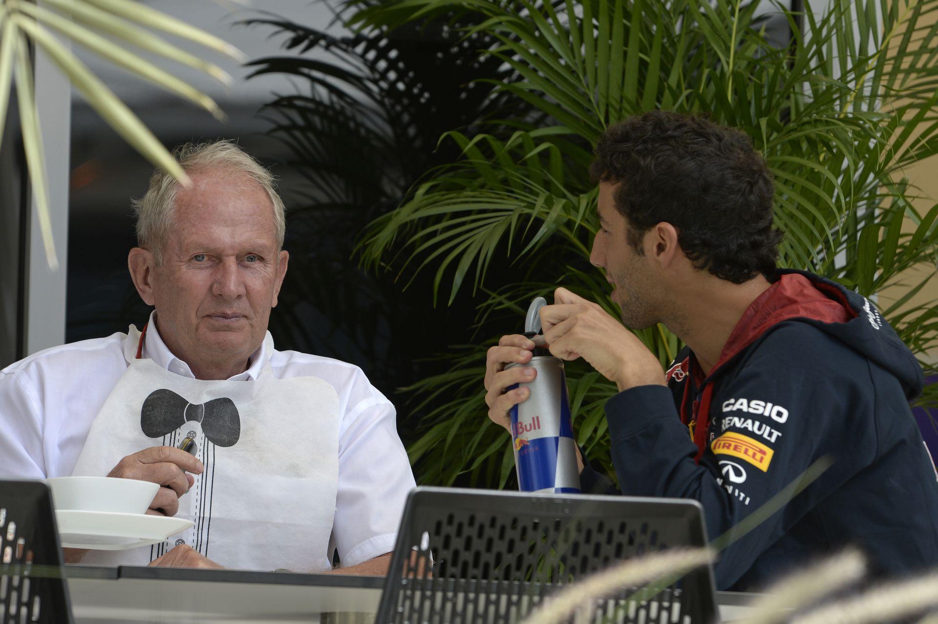 Marko: Ricciardo majdnem azon a szinten van, mint Hamilton