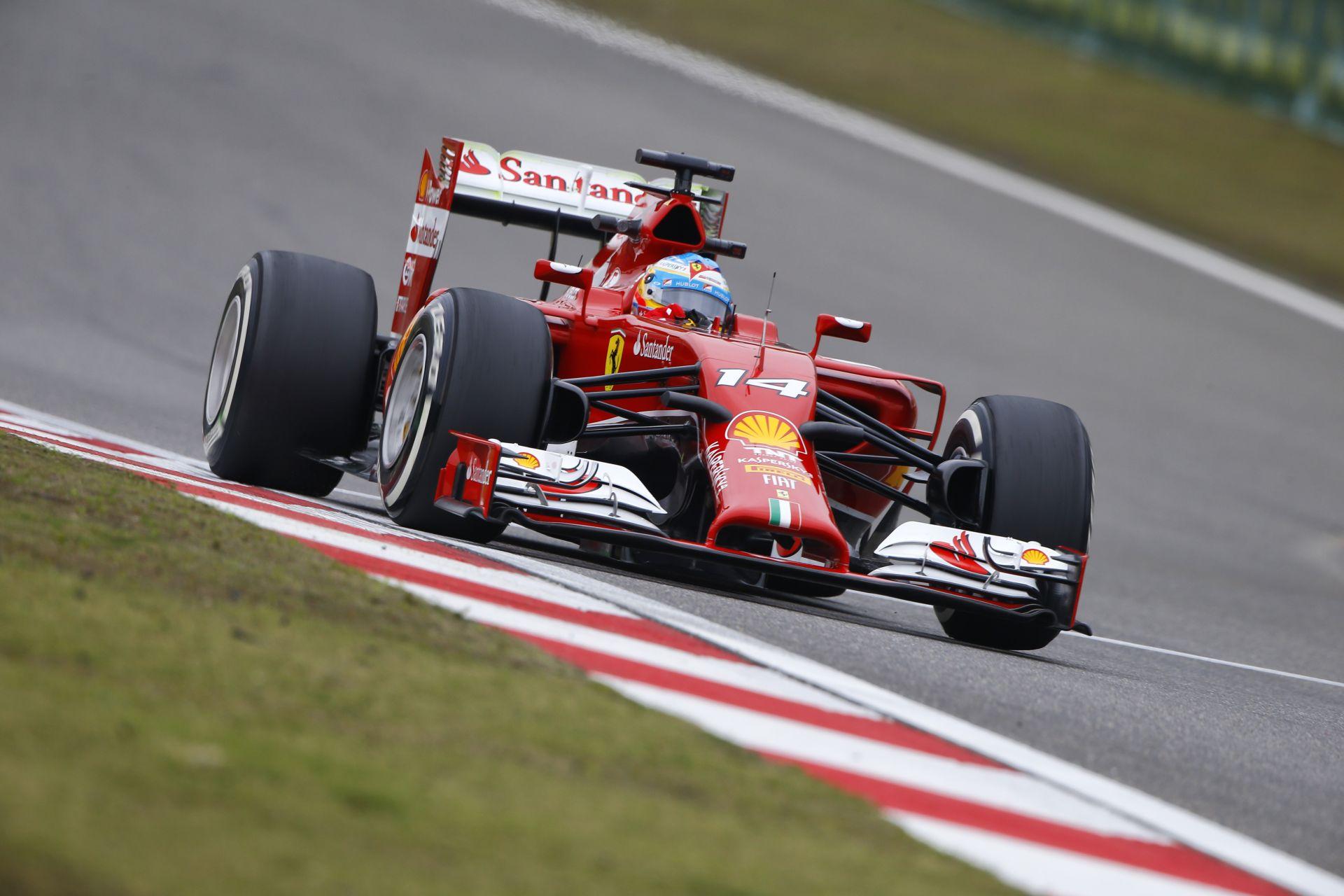 Alonso nyerte az első edzést Kínában Rosberg és Ricciardo előtt! Raikkönen megjárta