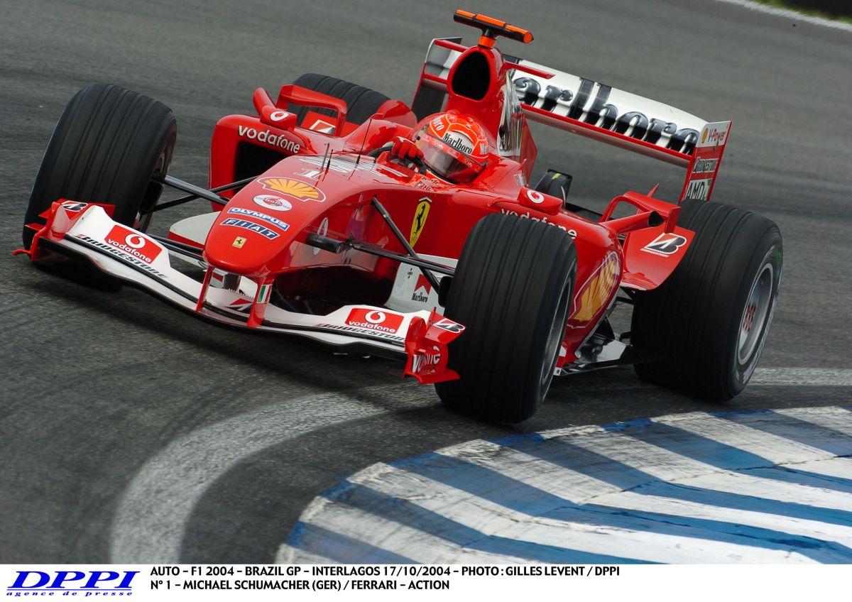 Vettel szerint Schumacher 2004-es Ferrarija a tökéletes F1-es autó