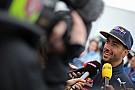 Ricciardo necesitó unos días para calmarse tras Mónaco