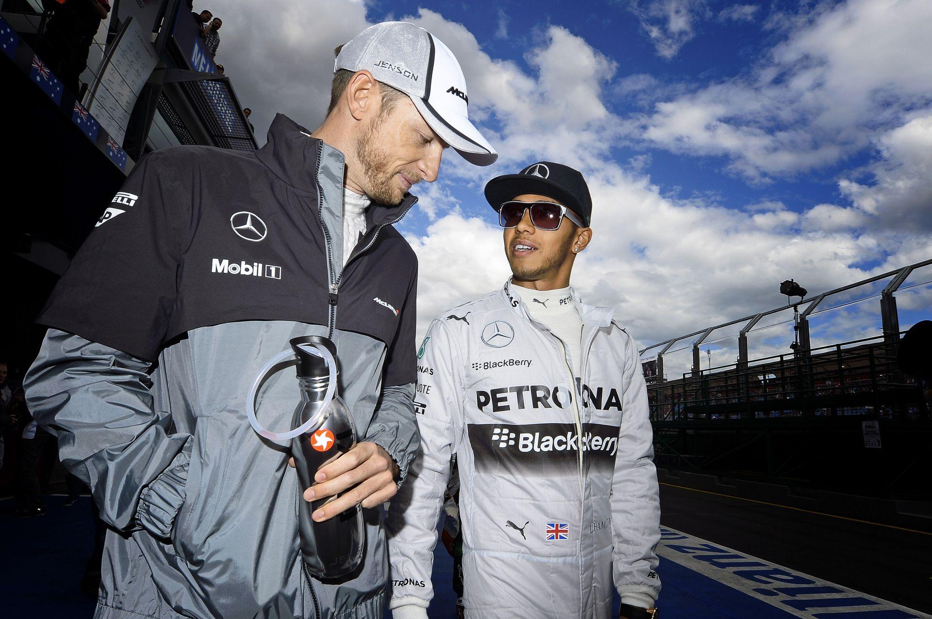 Button meggondolta magát, és szívesen maradna a McLarennél