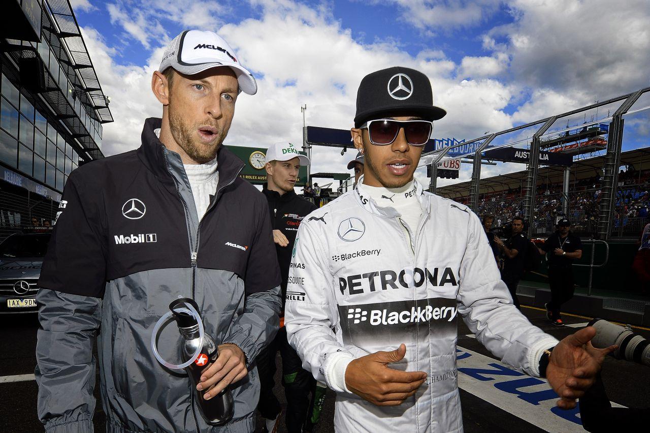 Button örül az erős csapattársnak: a McLaren számára is fantasztikus a remek duó