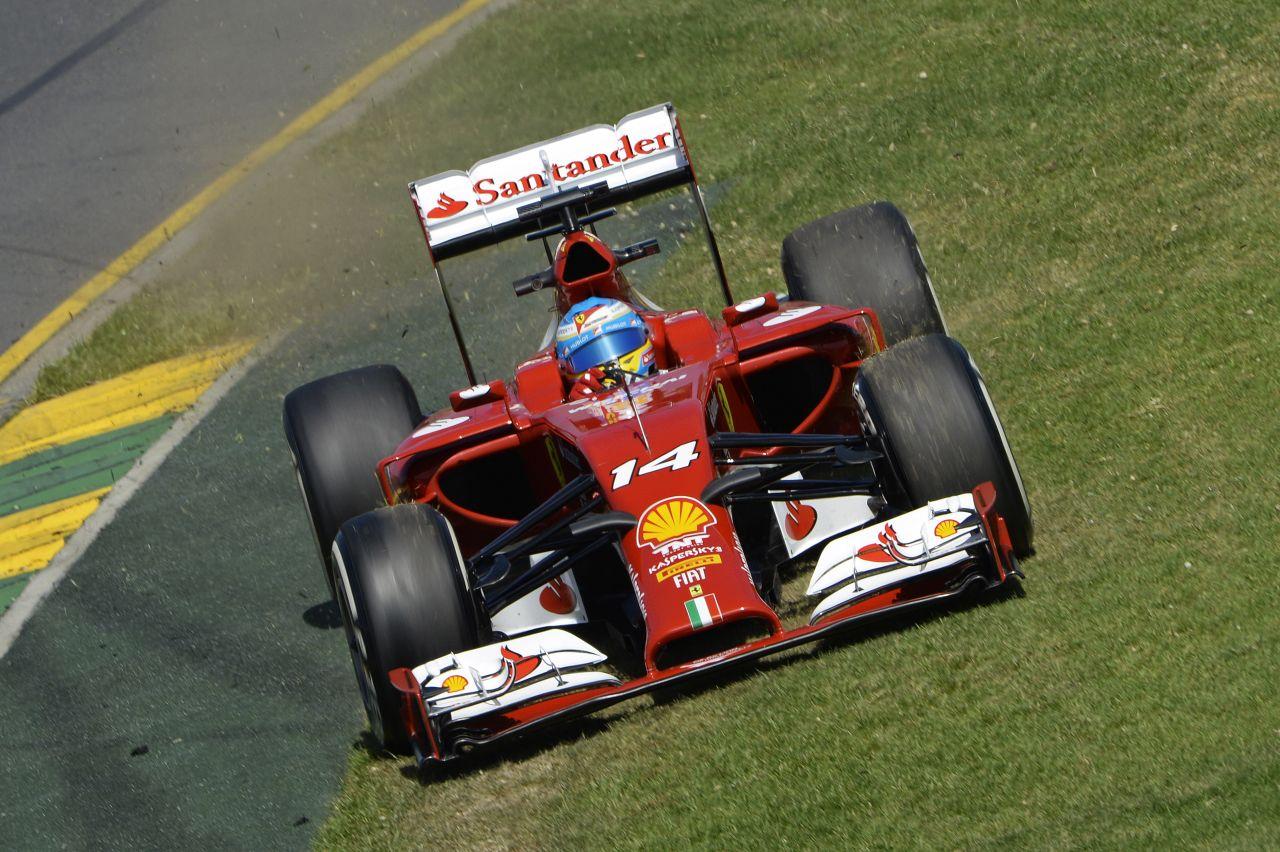 Rajtról-rajtra bukdácsolt a Ferrari Ausztráliában: 0 litert fogyasztott az F14T