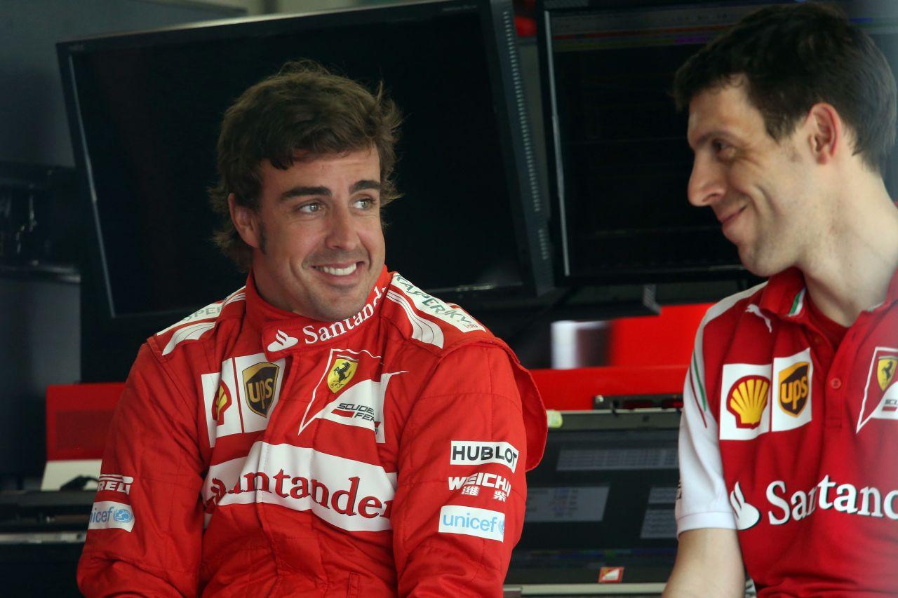 Alonso: világrekord a háromperces felfüggesztés-csere