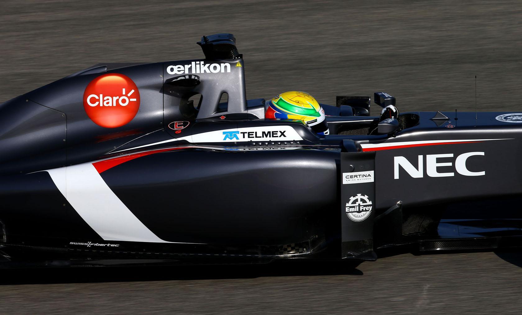 Közel 100 kört futott a Sauber Bahreinben a harmadik napon