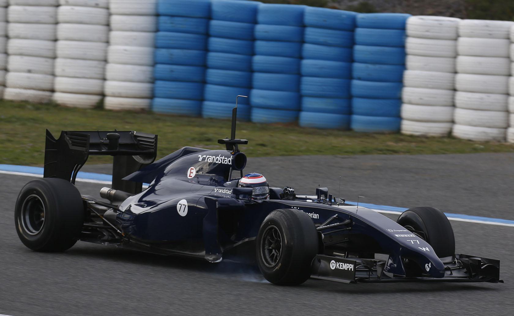 Bottas betörte a Williams új gépét, most jöhet Massa