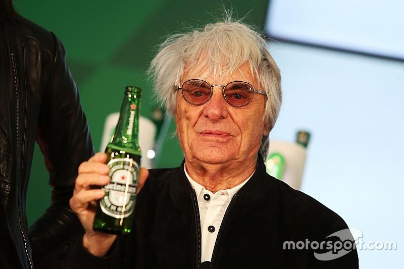 Heineken-Deal weckt das Interesse von Bernie Ecclestone an Sozialen Netzwerken