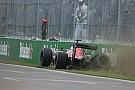 """Sainz over crash: """"Ik besloot er die ronde vol voor te gaan"""""""