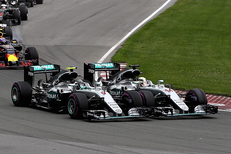 "Rosberg: ""Baalde enorm na contact met Hamilton"""