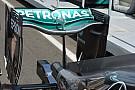 Mercedes: si rivede l'ala a cucchiaio usata da Rosberg in Canada