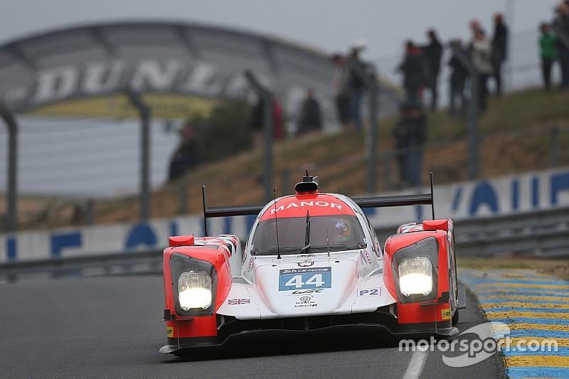 Roberto Merhi, contento tras su primer relevo en Le Mans