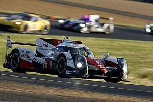 Le Mans Crónica de Carrera Porsche y Toyota pelean por el triunfo en Le Mans a 4 horas del final