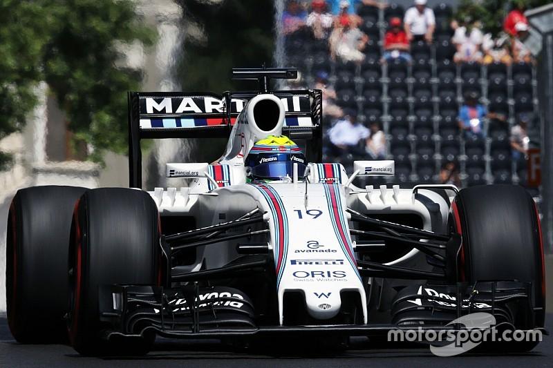 """Massa espera que todos """"se comporten"""" en la carrera de Bakú"""