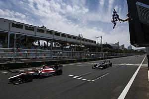 FIA F2 Blog Chronique Sirotkin - J'ai tiré le meilleur du chaos de Bakou