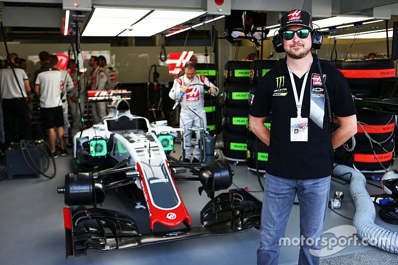 NASCAR王者カート・ブッシュ、F1テストに興味
