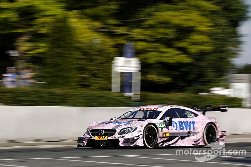 DTM Norisring: Christian Vietoris holt für Mercedes die Pole-Position
