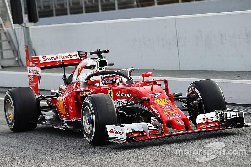 Ferrari probeert in Oostenrijk nieuwe versie van halo uit