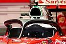 Ferrari's halo 2 verschijnt in het openbaar in Oostenrijk