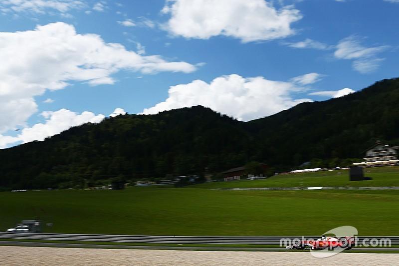 F1オーストリアGP FP3:ベッテルがトップ。ロズベルグがクラッシュ!