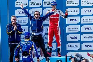 フォーミュラE レースレポート フォーミュラE第9戦決勝:プロ-セナが表彰台。タイトル争いは3ポイント差で明日の最終戦へ