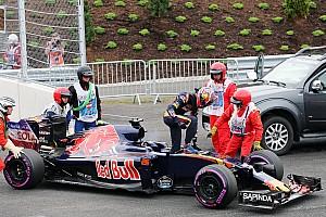 Формула 1 Новость Квят остановился из-за потери мощности