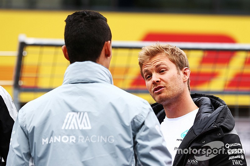 "Rosberg over beslissing stewards: ""Ben andere mening toegedaan"""