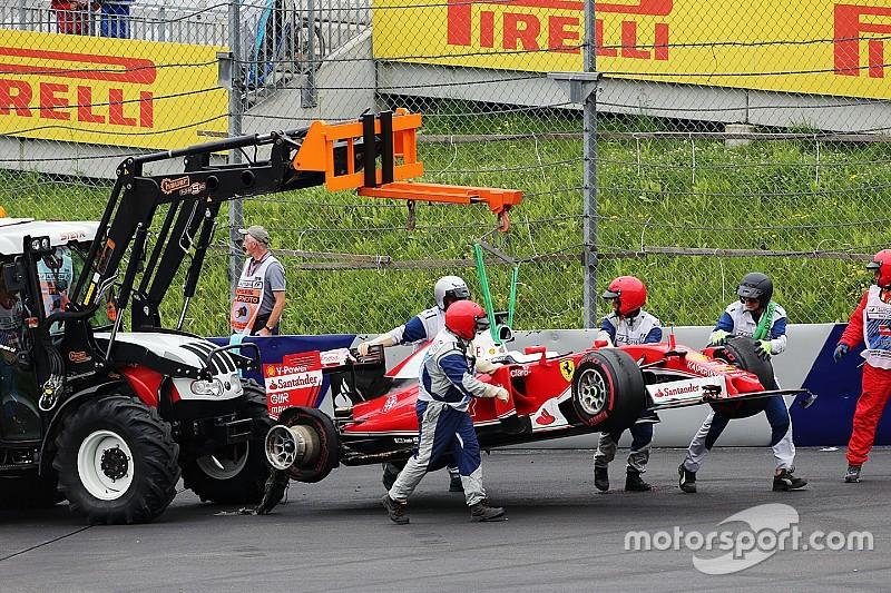 В Ferrari рассчитывали увидеть Феттеля на подиуме