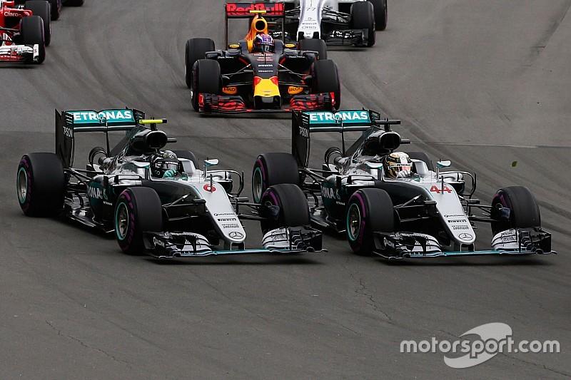 Hamilton en Rosberg krijgen plannen Mercedes te horen