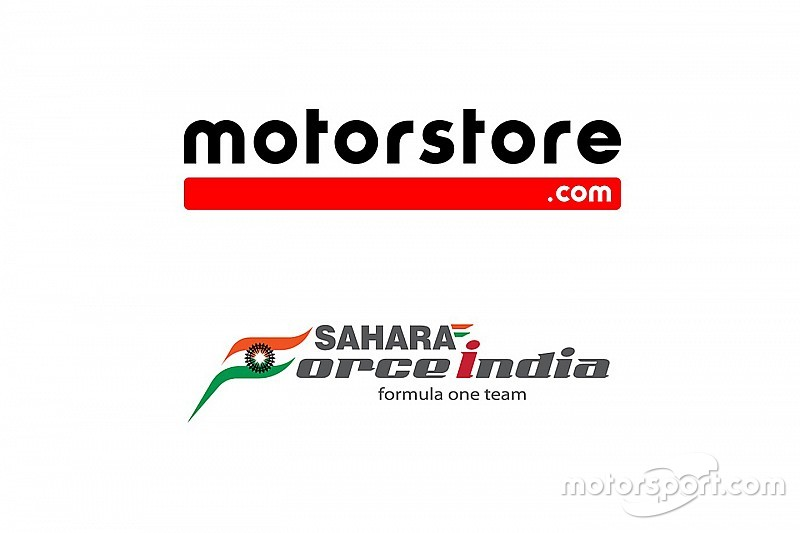 Motorstore.com en Sahara Force India lanceren e-commerce partnership