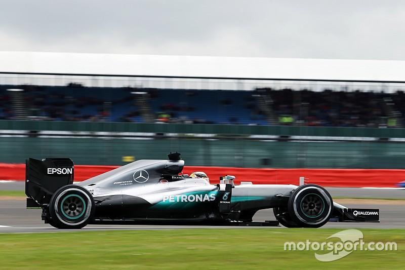 Silverstone, Libere 1: Hamilton subito davanti. E Hulkenberg precede Vettel