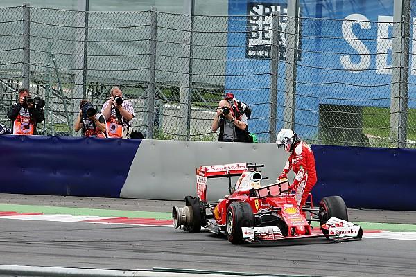 Pirelli: Kerbler Vettel'in Avusturya'daki sorununun kaynağı olabilir