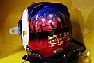 Fotogallery: casco speciale nel GP di casa per Jolyon Palmer