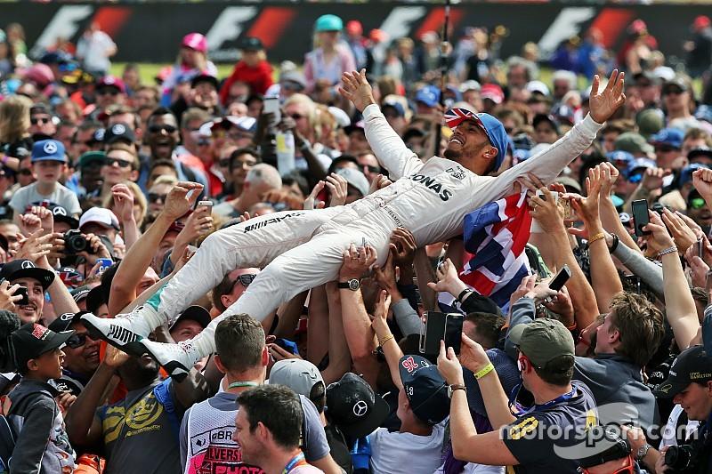 """Hamilton: """"Weekend perfetto ma ho dovuto risparmiare il motore"""""""