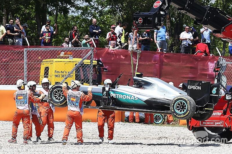 Хэмилтон расскажет об аварии в Испании после окончания карьеры