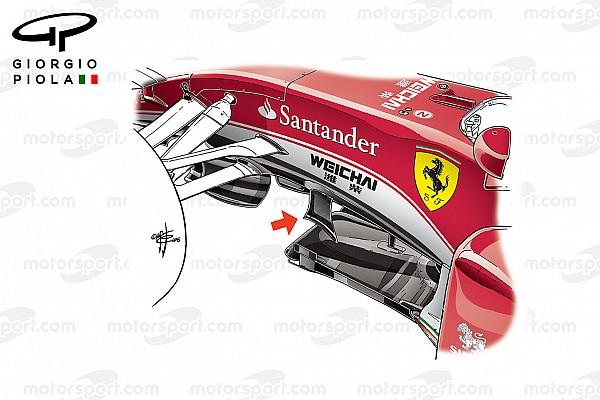 Análisis técnico: actualizaciones de McLaren, Ferrari y Williams en Silverstone