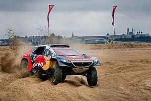 Cross-Country Rally Resumen de la etapa Despres lidera al llegar a las dunas doradas
