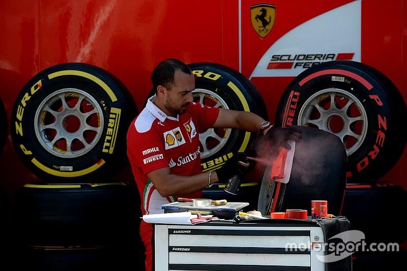 Шини для Гран Прі Німеччини: Ferrari знов робить ставку на Supersoft