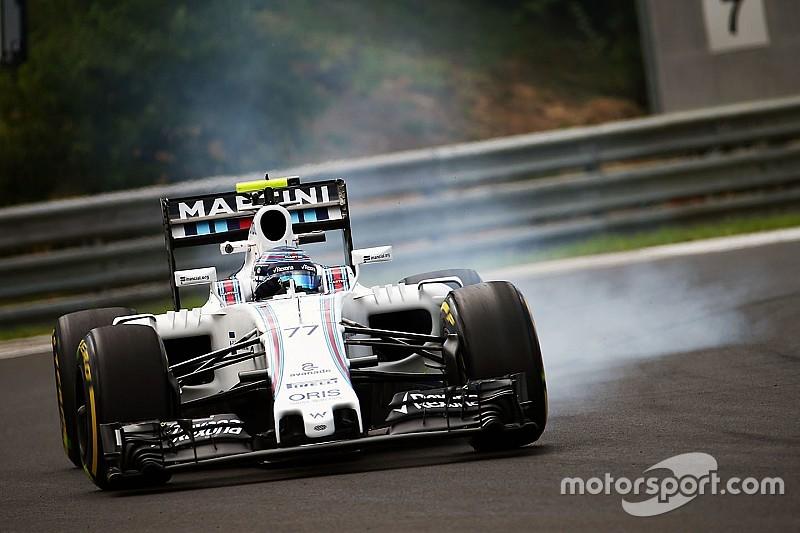 Bottas admite que las superblandas son un problema para Williams