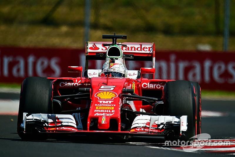 Vettel apuesta todo a la primera vuelta