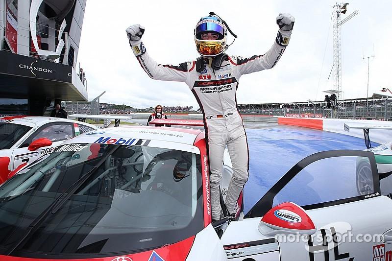 Sven Muller cala il tris e vola in testa al campionato