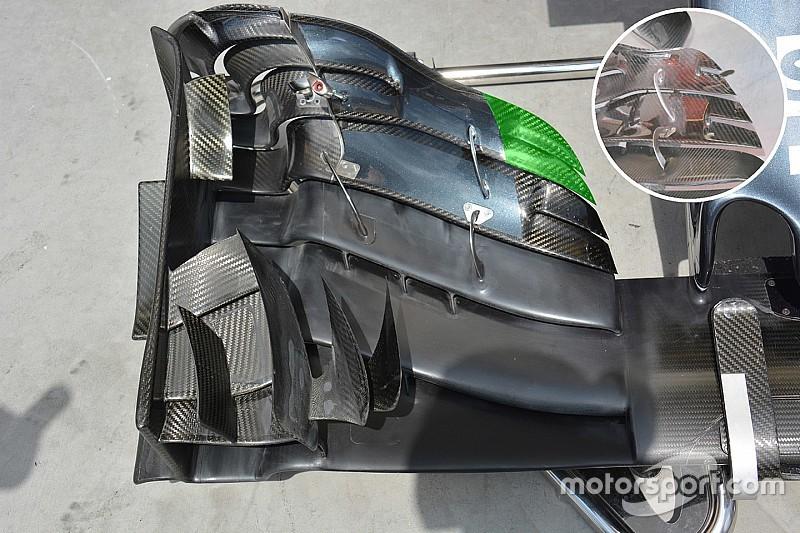 Breve análisis técnico: Alerón delantero del McLaren MP4-31