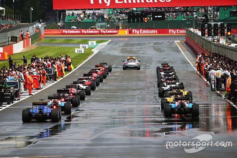 F1-teams bespreken staande starts bij regenraces