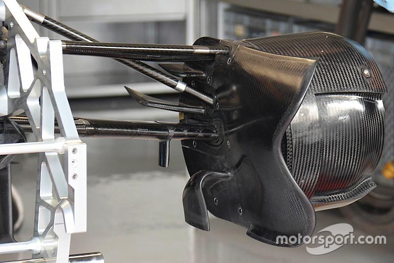 Технічний брифінг: повітрозабірник передніх гальм Toro Rosso STR11