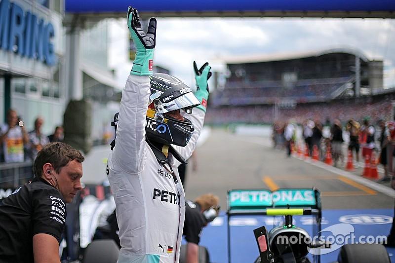 Rosberg verwacht zondag goed gevecht met Hamilton en Red Bulls te hebben