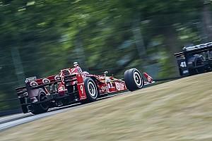 IndyCar Отчет о тренировке Диксон установил новый неофициальный рекорд трассы в Мид-Огайо