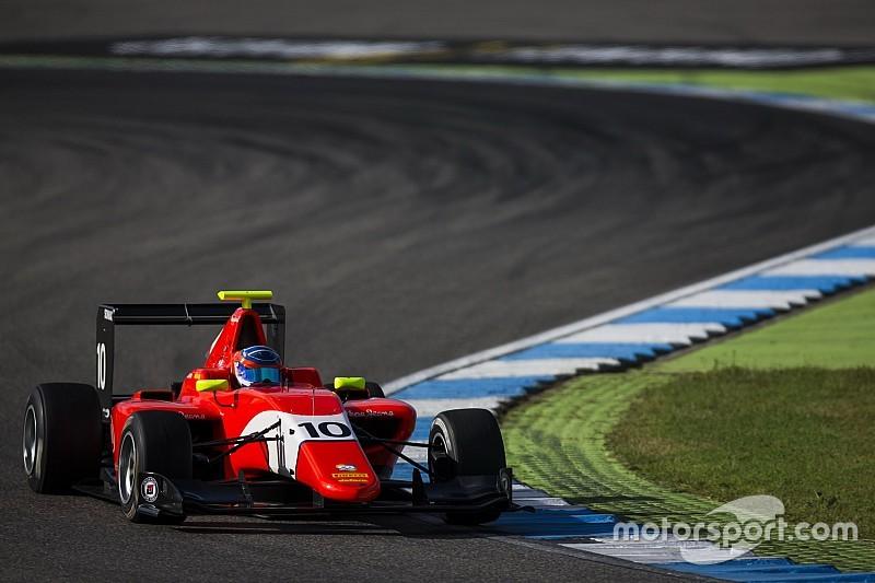 Tatiana Calderón terminó en los puntos por primera vez en la GP3