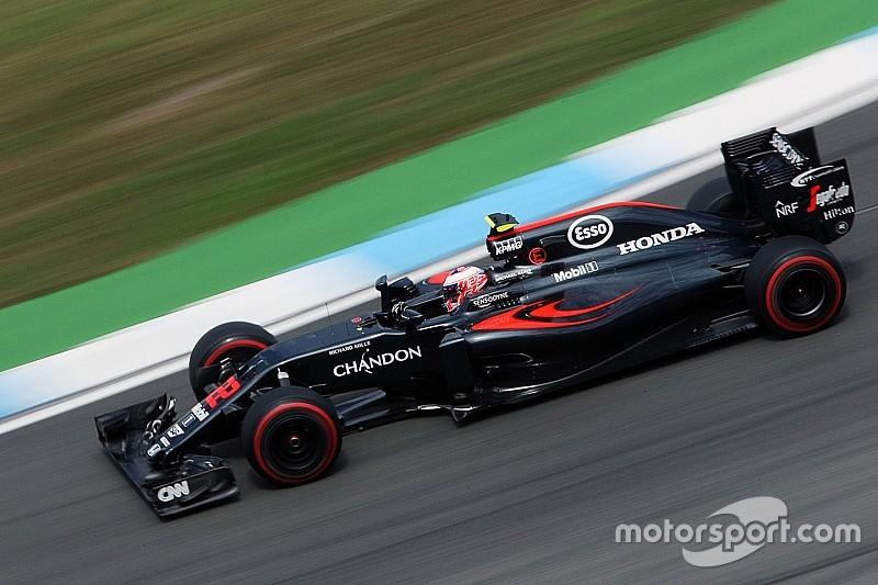 バトン、ドイツGP決勝に向け新エナジーストアとCEを投入