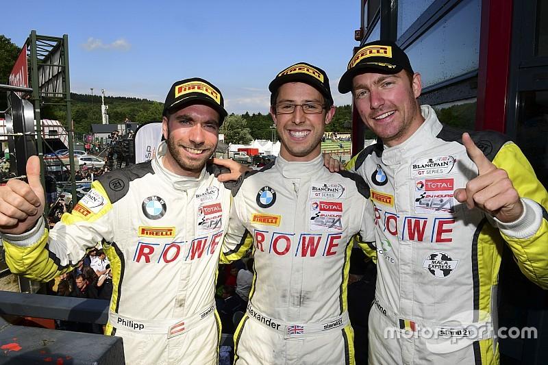 Sims, Eng y Martin ganan con BMW las 24 Horas de Spa